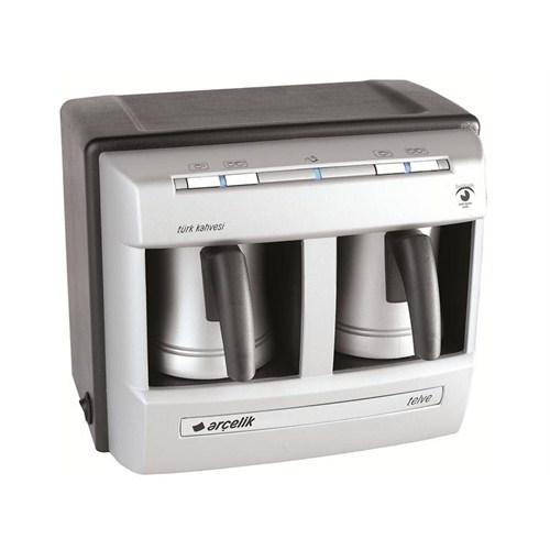 Cook sense teknolojisi ile taşırmadan bol köpüklü gerçek Türk kahvesi lezzeti sunan Türk Kahvesi Makinesi!