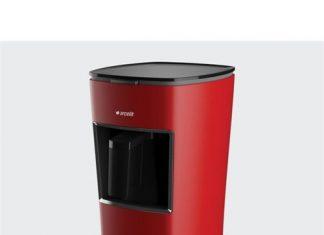 Arçelik K-3300 Telve Türk Kahve Makinesi Kırmızı Cezve malzemesi
