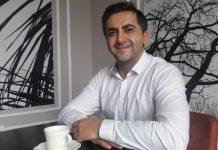 Castello Premium Coffee CEO'su Tamer Çiçekçi görseli.